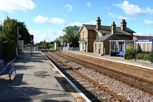 Hutton Cranswick Train Station