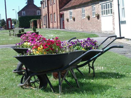 Wheelbarrows at Hutton